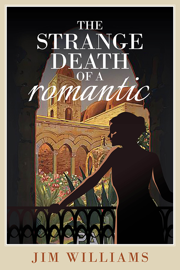 Jim Williams Books - The Strange Death of a Romantic Cover
